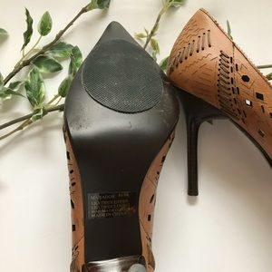 cc4e9a7cc03 Steve Madden Matador Pointy Toe Pumps Tan